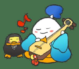 egg-samurai&chick-ninja sticker #402645