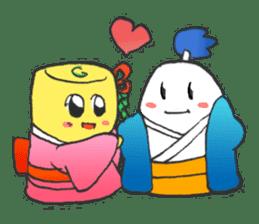 egg-samurai&chick-ninja sticker #402646