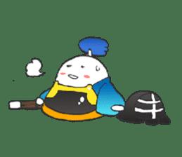 egg-samurai&chick-ninja sticker #402651
