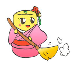 egg-samurai&chick-ninja sticker #402657