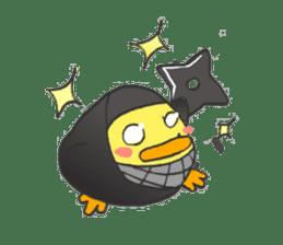 egg-samurai&chick-ninja sticker #402661
