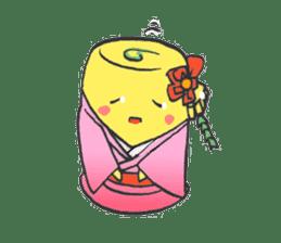 egg-samurai&chick-ninja sticker #402663