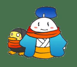 egg-samurai&chick-ninja sticker #402666