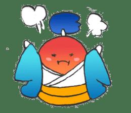 egg-samurai&chick-ninja sticker #402667
