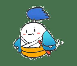 egg-samurai&chick-ninja sticker #402672