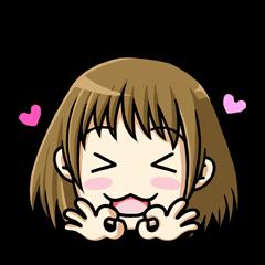 ReactionSticker of Sammy in love/Japan