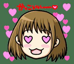 ReactionSticker of Sammy in love/Japan sticker #402892