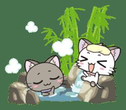 Hoshi & Luna Diary 2 sticker #403359