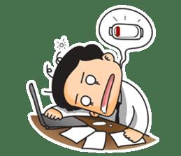 TIK & TOK The Office Lover sticker #404845