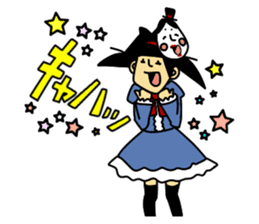 RINA OCHOKU  Everyday ver. sticker #405370
