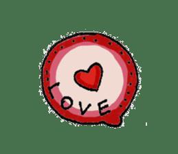 J & P's (shiny & love) sticker #405896