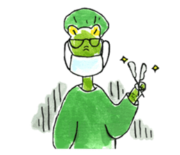 Dr.Crocodile sticker #406013