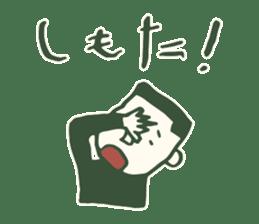 Kagoshima accent sticker #406101