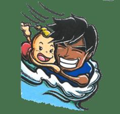 Enjoy Da Surfing sticker #407142