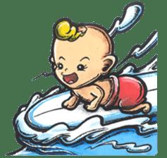 Enjoy Da Surfing sticker #407147