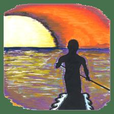 Enjoy Da Surfing sticker #407159