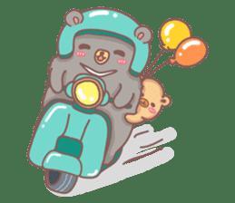 C.M.Bear sticker #407112