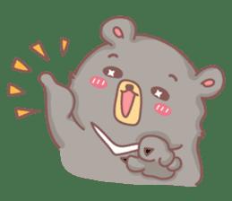 C.M.Bear sticker #407113