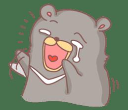 C.M.Bear sticker #407115