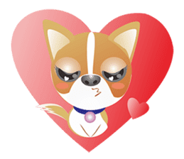 Dog-Chihuahua sticker #407173