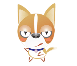 Dog-Chihuahua sticker #407181