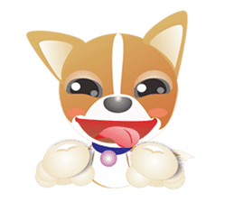 Dog-Chihuahua sticker #407191