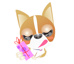 Dog-Chihuahua sticker #407195