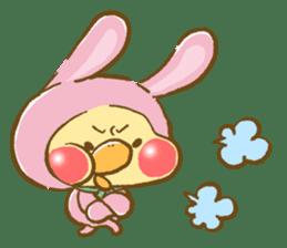 You are Chick? No, I'm rabbit. sticker #407390