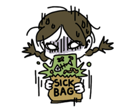 Mie Mie The funny girl sticker #409292