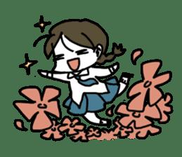 Mie Mie The funny girl sticker #409293