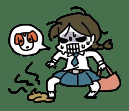 Mie Mie The funny girl sticker #409301