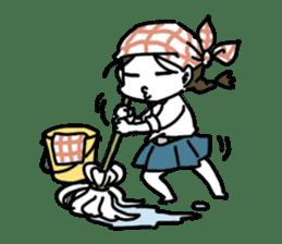 Mie Mie The funny girl sticker #409302