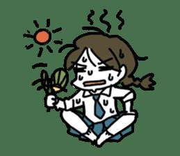 Mie Mie The funny girl sticker #409308