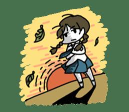 Mie Mie The funny girl sticker #409312