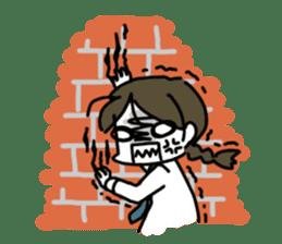 Mie Mie The funny girl sticker #409315