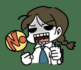Mie Mie The funny girl sticker #409317