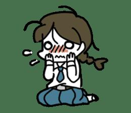 Mie Mie The funny girl sticker #409323