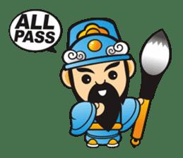 Mini Q Gods sticker #409965