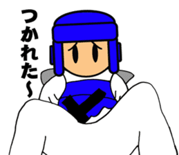 I love taekwondo sticker #410004