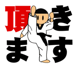 I love taekwondo sticker #410009