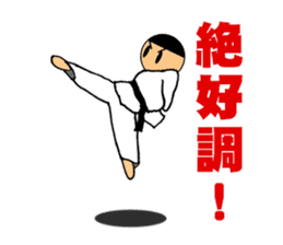 I love taekwondo sticker #410015