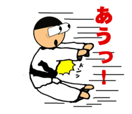 I love taekwondo sticker #410021
