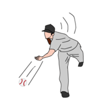 Crazy Pitcher sticker #410349