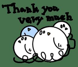 Thanks & Congratulations sticker #410934