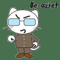 Serious cat GARIO sticker #411251