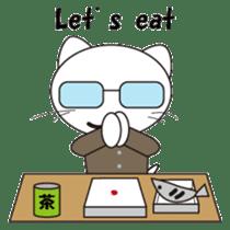 Serious cat GARIO sticker #411254