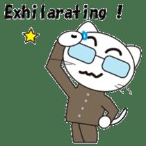 Serious cat GARIO sticker #411260