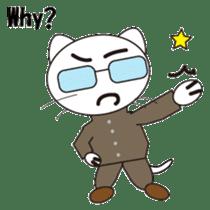 Serious cat GARIO sticker #411263