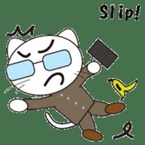 Serious cat GARIO sticker #411264