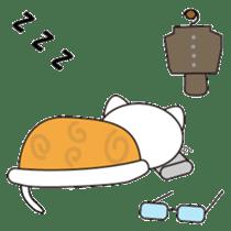 Serious cat GARIO sticker #411273